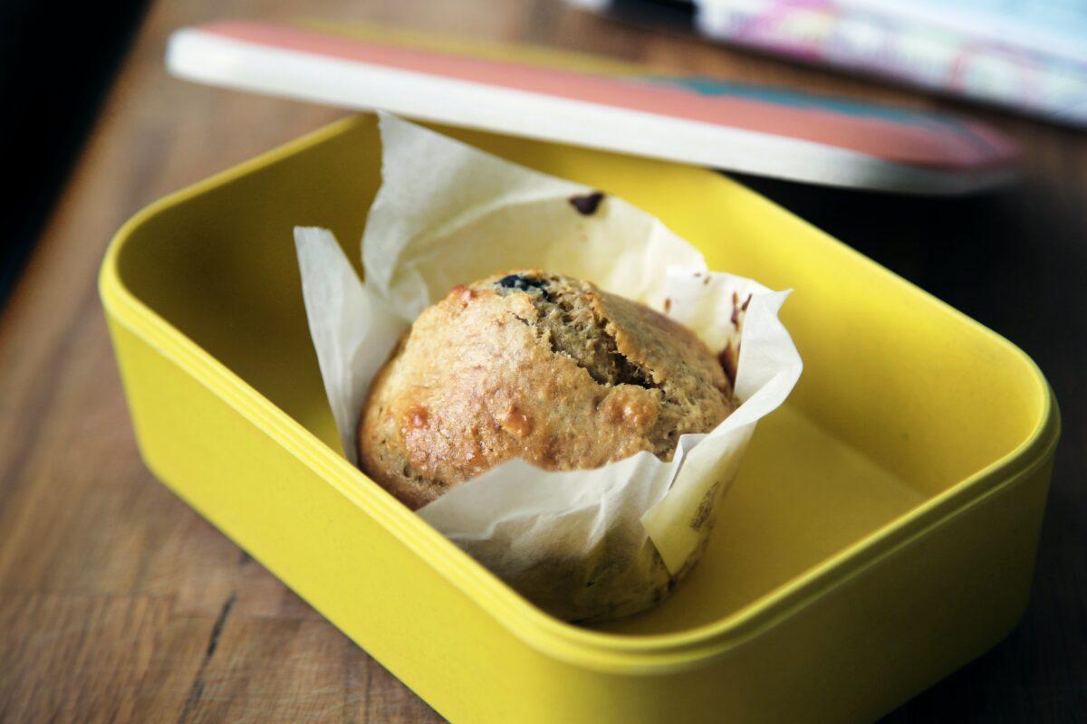 Muffin in eigener Botdose