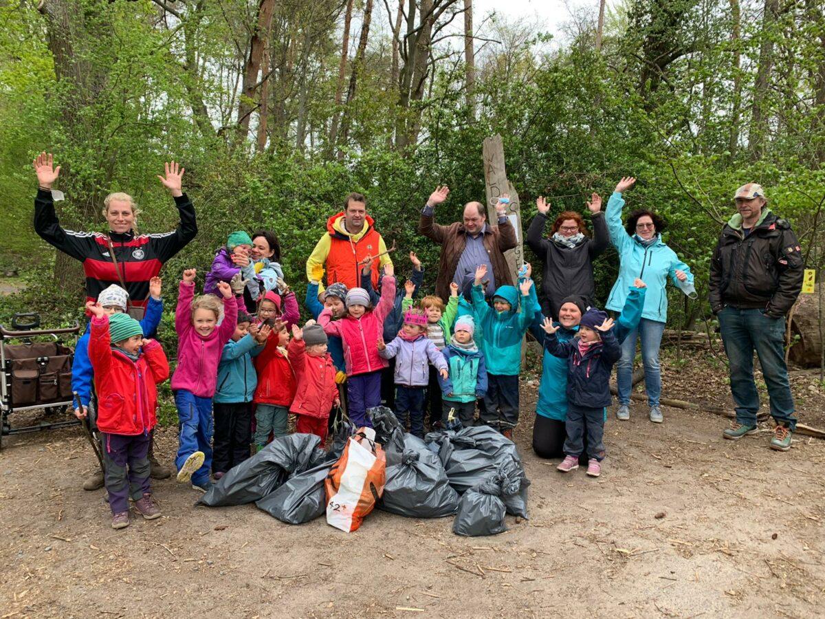 Sauberhafter Kindertag Müllsammelaktion 2021