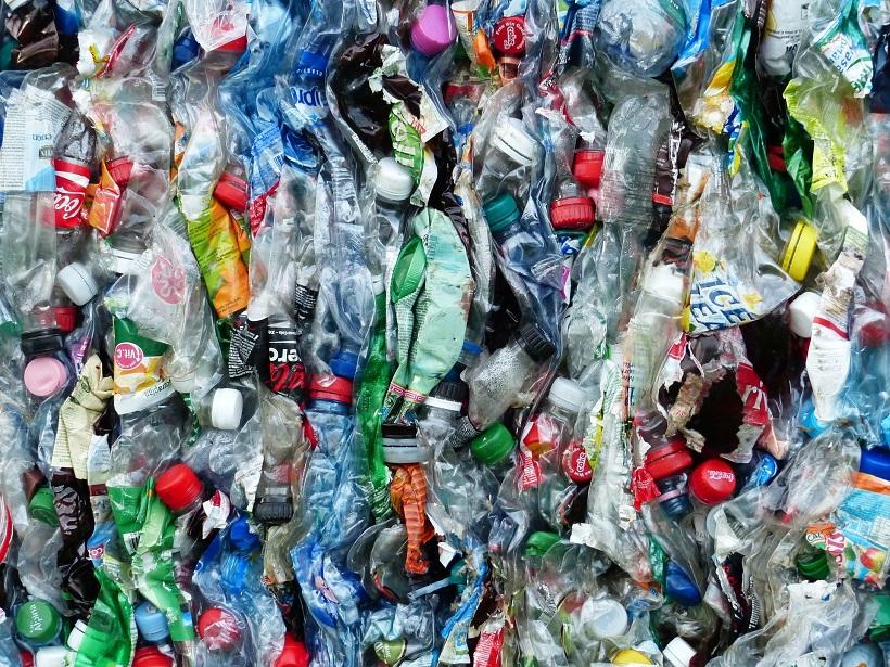 Abfall Flaschen Müll