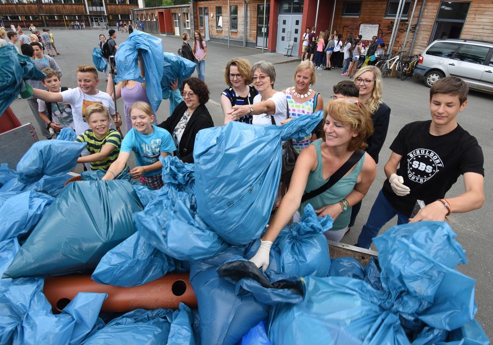 Aktion Schulweg Teilnehmer Sauberhaftes Hessen